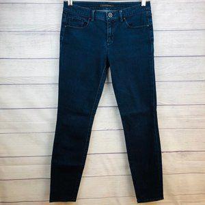Elie Tahari Jeans Dark Skinny Mid Rise Size 4